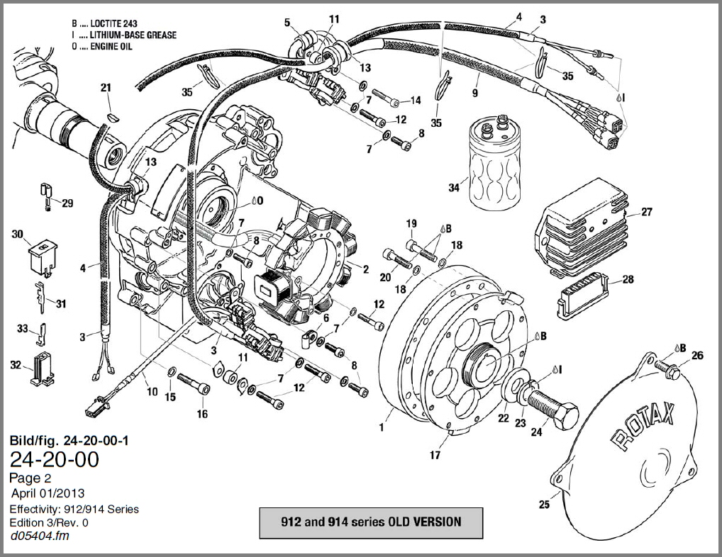 24 20 00 Mag Gen New 912 914 old b skydrive products rotax 447 wiring diagram at alyssarenee.co