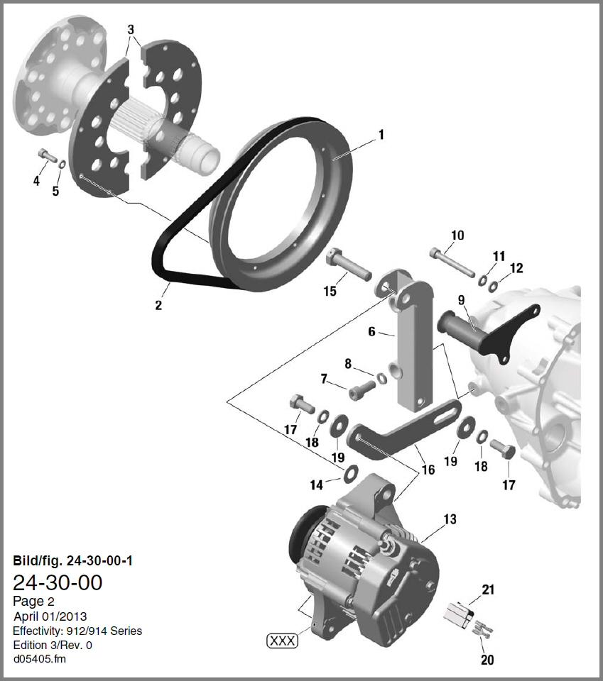 skydrive products912 \u0026 914 external generator diagram