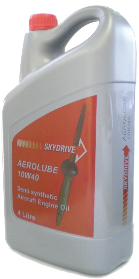 AEROLUBE 4-STROKE OIL - 4 LITRE BOTTLE