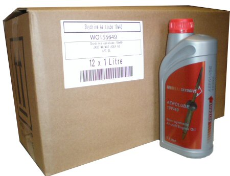AEROLUBE 4-STROKE OIL - BOX OF 12 X 1 LITRES