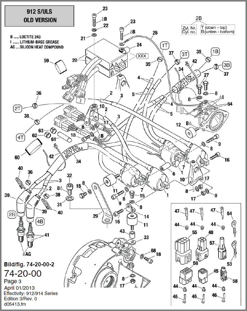 74 20 00 double ign coil 912s old b skydrive products rotax 447 wiring diagram at alyssarenee.co