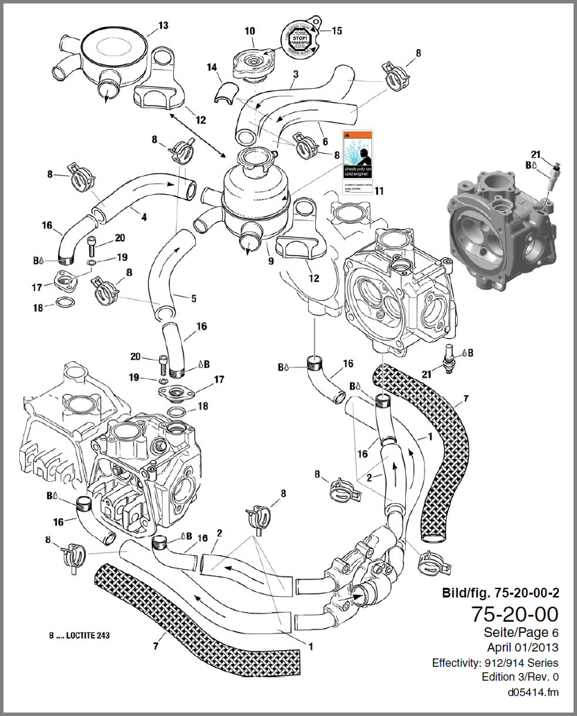 Rotax Engine Diagram Wiring Third Level Mtd 912 Completed Diagrams Library