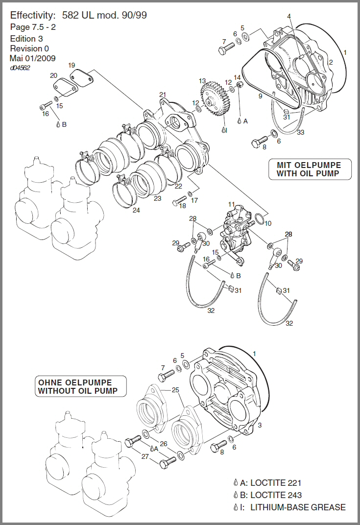 SKYDRIVE Products – Rotax Engine Oil Line Diagram
