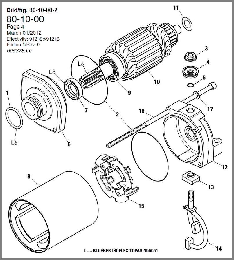 SKYDRIVE Products – Rotax Engine Parts Diagram