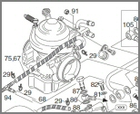 ROTAX 914 SERIES - EXPLODED DIAGRAMS AND PRODUCTS FROM PARTS LISTS