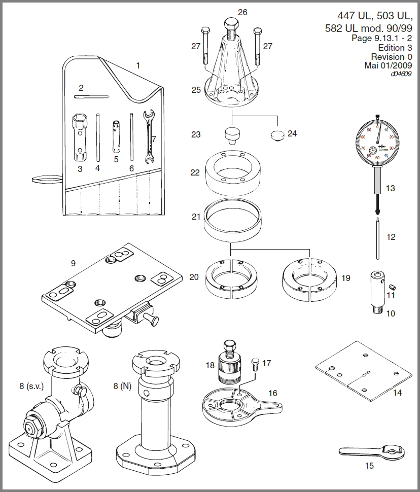 Skydrive Products Wiring Diagram Rotax 447 583 582 General Repair Tools
