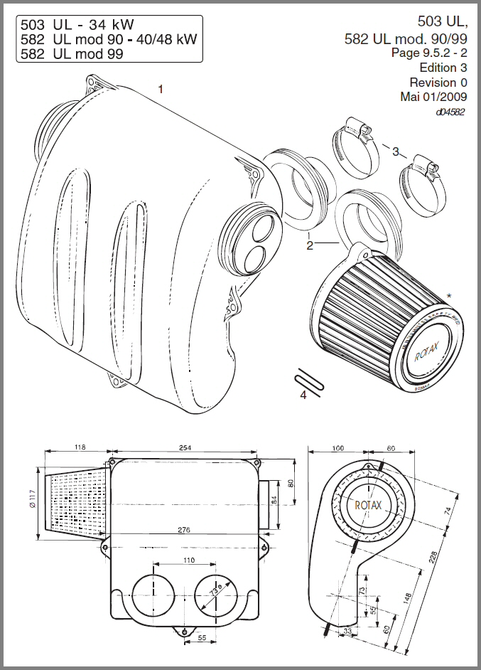 SKYDRIVE Products – Rotax 503 Engine Diagram