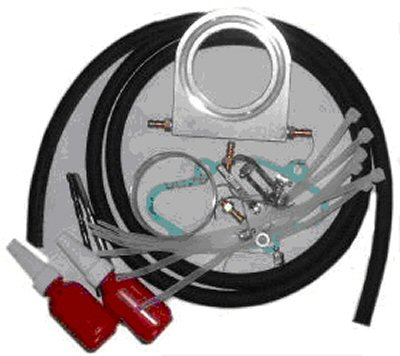 SINGLE CARB COOLANT CARB HEATER KIT