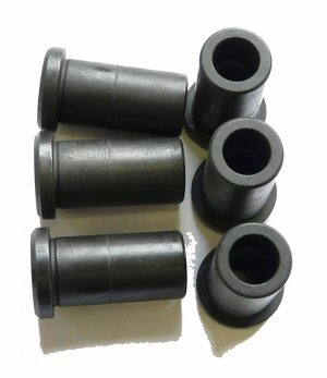 PROP FLANGE COLLAR NUTS M8 (SET OF 6)
