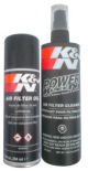AIR FILTER CARE SERVICE KIT (SPRAY OIL & CLEANER)