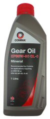 EP80W-90 GL-5 GEAR OIL - 1 LITRE